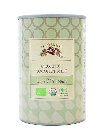 COCO FRESCO 有機椰奶7% 400ml/罐