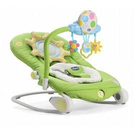 【+贈矽膠學習湯匙】義大利ChiccoBallon安撫搖椅造型版(春分綠)2999元(有優惠可以詢問