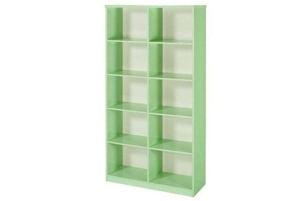【石川家居】935-09綠色書櫃(CT-904)#訂製預購款式#環保塑鋼P無毒防霉易清潔