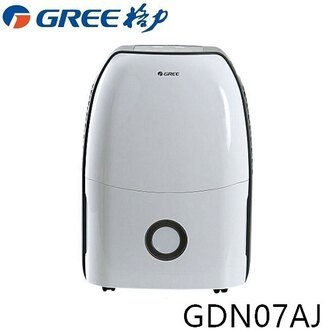 【GREE格力】1級效能除濕機7L智慧除濕機GDN07AJ【三井3C】