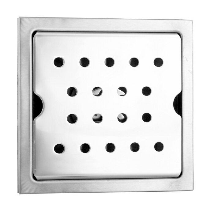 """電光方型地板防臭落水頭2"""" 200x200mm/FF3565"""
