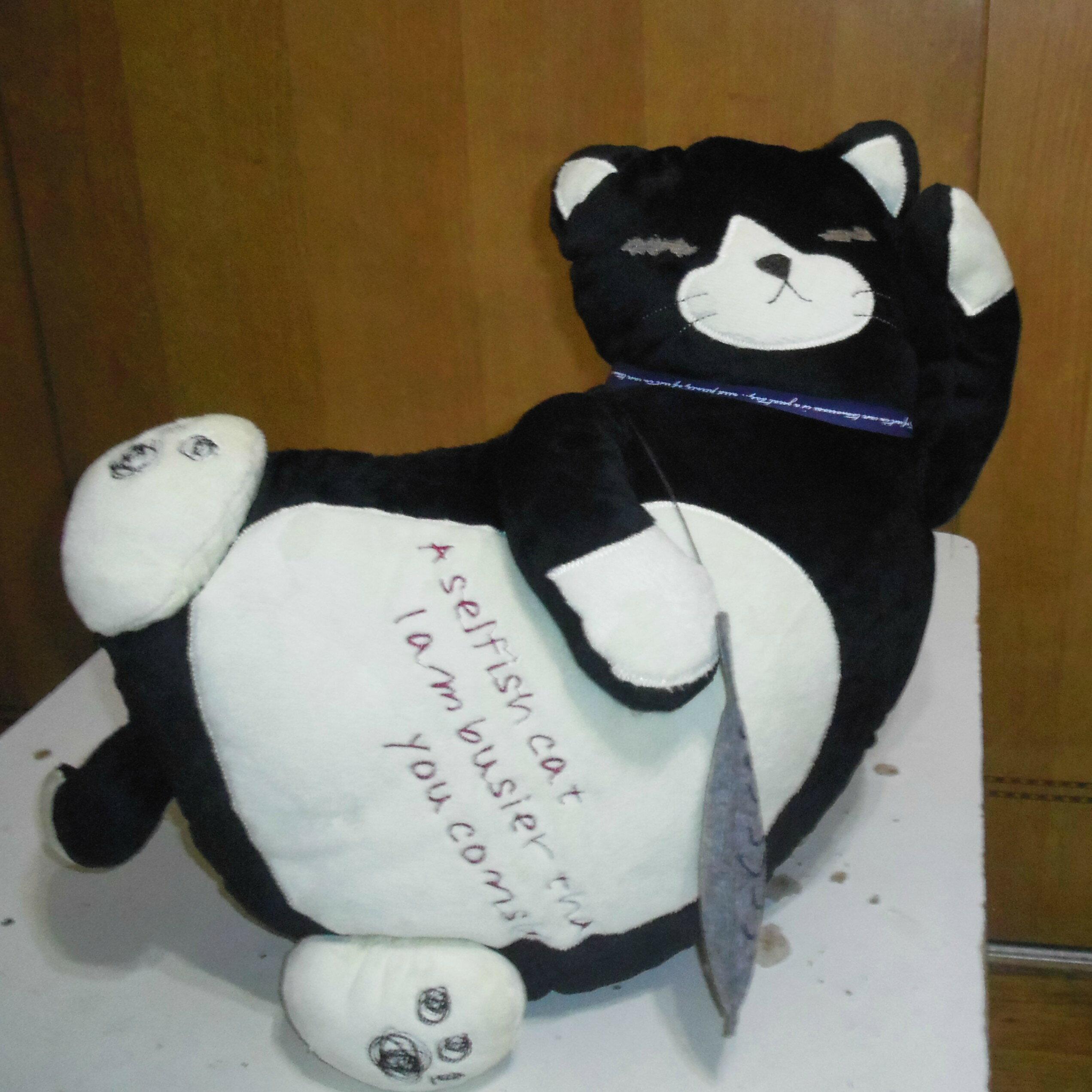 日本療癒貓咪 - 舒適抱枕/靠墊