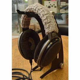 志達電子HHBPS耳機頭梁保護套黑灰二色可選適用HD650HD600DT990HD800T1K701K712