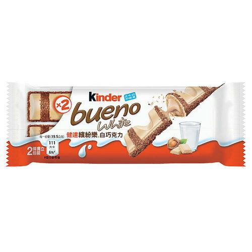 健達 繽紛樂 白巧克力 39g