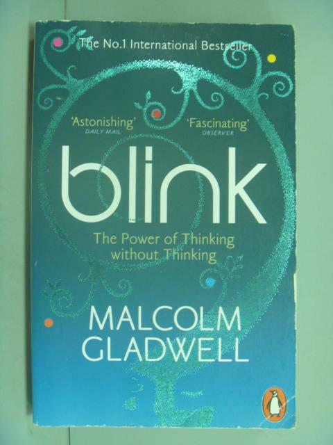 ~書寶 書T2/心理_IGP~Blink: The Power of Thinking W