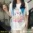 F-DNA★卡通少女印花圓領短袖上衣T恤(白-M-2XL)【ET12709】 0