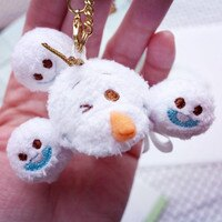 PGS7 日本迪士尼系列商品 - 日本 迪士尼 冰雪奇緣 Frozen 雪寶 Olaf 娃娃 吊飾【SKD7026】