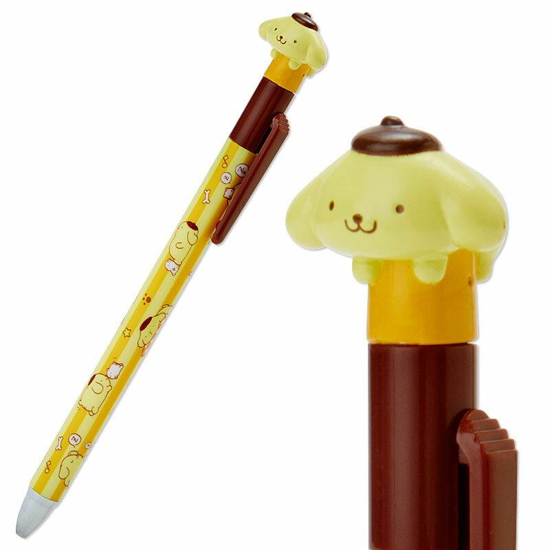【真愛日本】15121700008 立體公仔原子筆-PN條紋黃 三麗鷗家族 布丁狗 原子筆 書寫文具