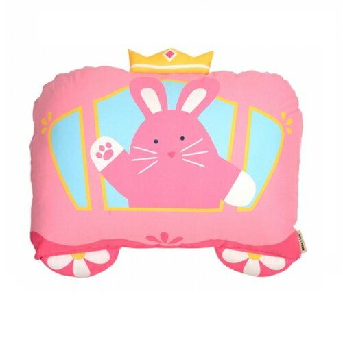 美國【Milo & Gabby】 動物好朋友-超細纖維防蟎大枕心+枕套組(LOLA公主兔兔) 0