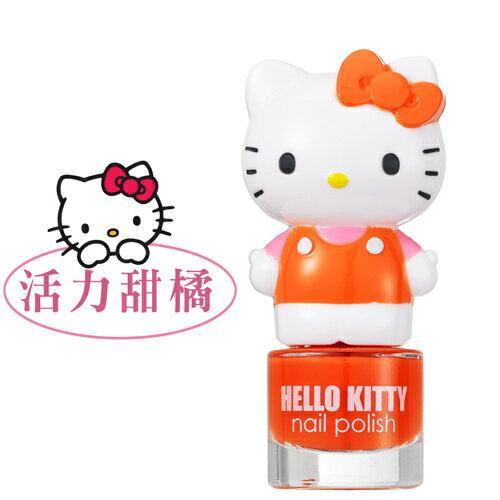 Hello Kitty 繽紛萌女孩指甲油- 活力甜橘(HK10001)