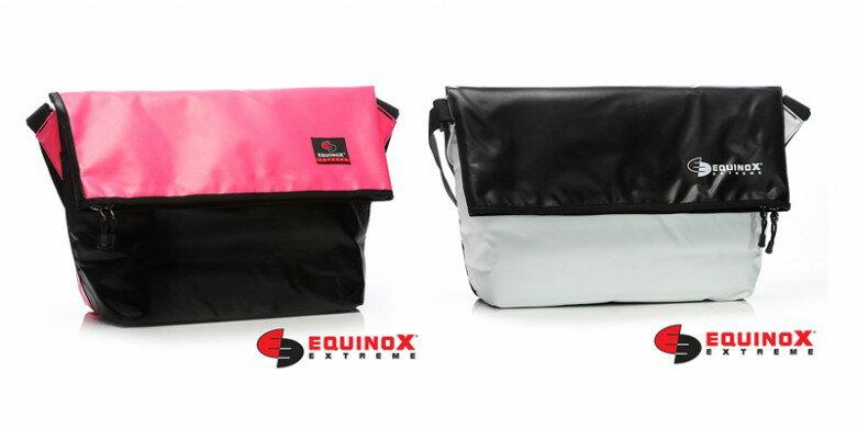 【露營趣】EQUINOX 防水 雙面信差包 郵差包 防水包 肩背包 休閒包 運動包 通勤包 多功能包 111131