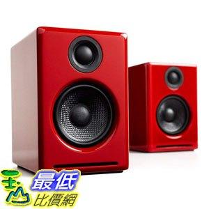 [7美國直購] Audioengine Red 紅色 揚聲器 B010OIVSDA A2+ Premium Powered Desktop Speakers Pair
