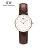 瑞典正品代購 Daniel Wellington 0903DW  玫瑰金鑽  真皮 錶帶 男女錶 手錶腕錶 26MM 0