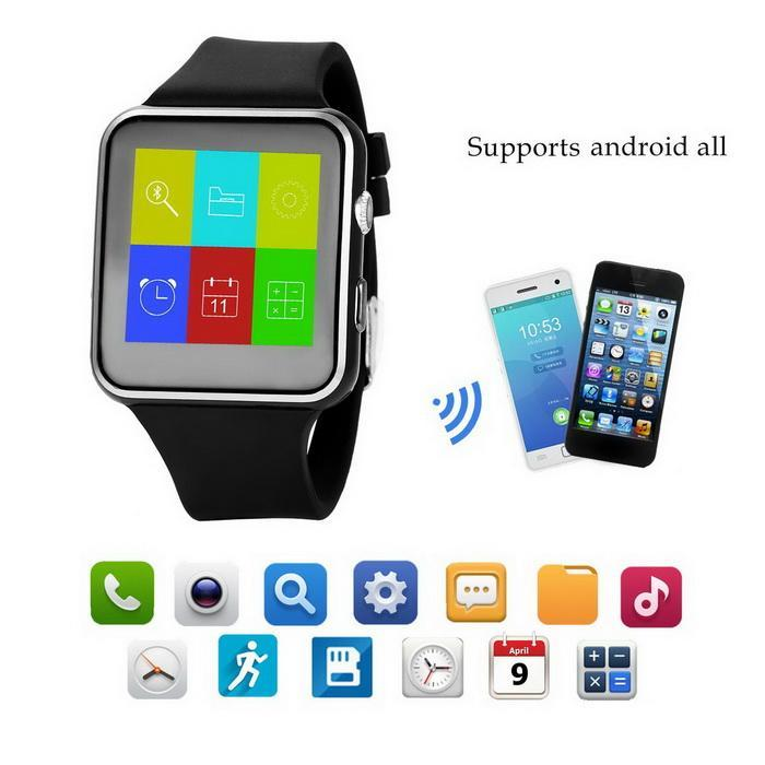 Bluetooth Smart Wrist Watch Phone Mate Touch Screen Support For Android/IOS 3