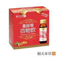 順天本草-蔓越莓四物飲(6瓶/盒)