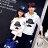 ◆快速出貨◆刷毛T恤 圓領刷毛 連帽T恤 情侶T恤 暖暖刷毛 MIT台灣製.禮帽鬍子【YS0084】可單買.艾咪E舖 4