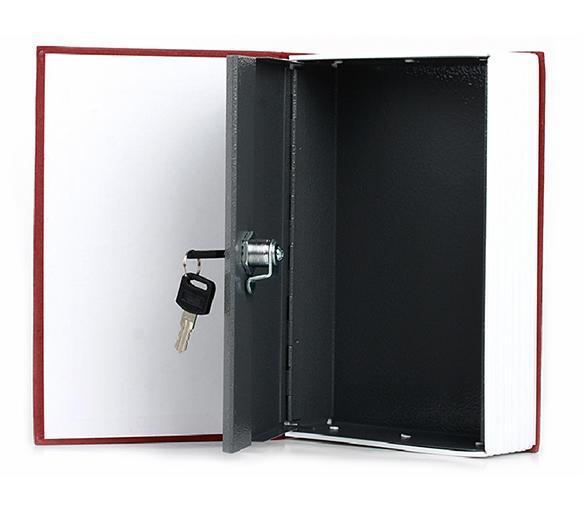 Dictionary  shape security box with Lock and Key Medium 4
