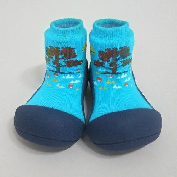 【任2雙$1099】韓國【Attipas】快樂腳襪型學步鞋-森林之歌