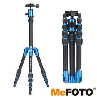 【MeFOTO】A0350Q0 美孚鋁合金反折式靚彩微型單眼腳架 ★適合類單眼和小單眼相機 ★反摺式收起來更輕巧