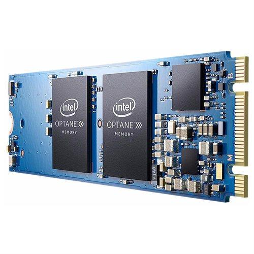 Intel Optane 32GB Internal Flash Accelerator M.2 2280 PCI Express 3.0 x2 1.32 GB/s Maximum Read Transfer Rate 290 MB/s Maximum Write Transfer Rate Blue MEMPEK1W032GAXT