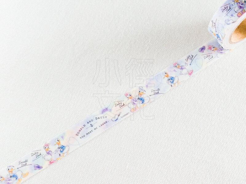 ~小徑文化~  CUTE MODEL 系列和紙膠帶 ~ 唐老鴨和黛西_水彩 ^( 8567