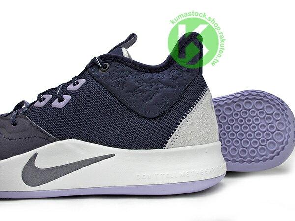 2019 強力登場 全明星球員 Paul George 個人最新簽名鞋款 NIKE PG 3 EP PAULETTE 紫白 母親節 前掌 ZOOM AIR 氣墊 籃球鞋 PG3 (AO2608-901) 0619 3