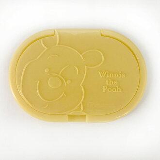 【真愛日本】17110900001 日本製濕紙巾蓋-維尼 迪士尼 小熊維尼 POOH 重覆黏貼 濕紙巾專用蓋