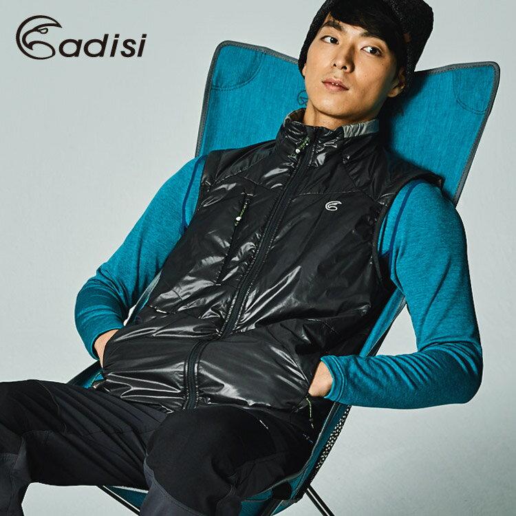 ADISI 男Primaloft撥水保暖背心AV1721015 (S-2XL) / 城市綠洲專賣 (保暖棉、環保、防潑水)