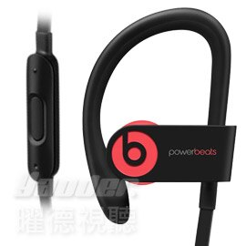 【曜德★送T恤+A5水壺】Beats Powerbeats 3 Wireless 紅 無線藍芽 運動型耳掛式耳機 防汗 ★ 免運 ★