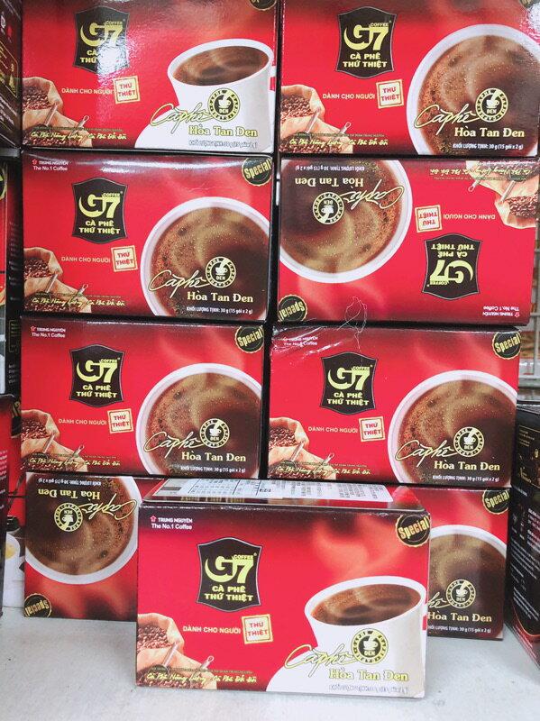 越南****人氣**G7黑咖啡  三合一咖啡 15入/21入/50入 袋裝 盒裝