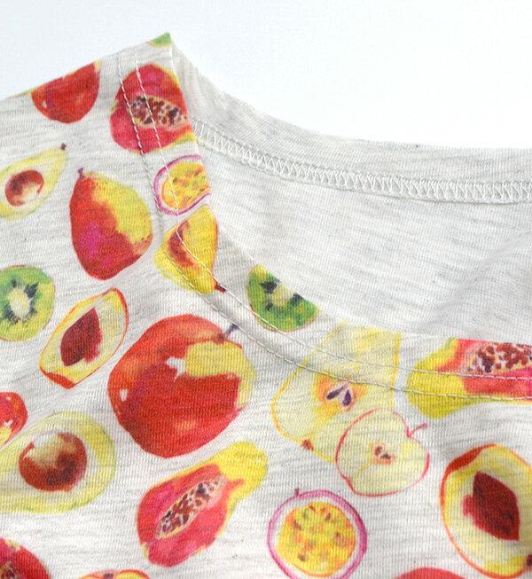 日本e-zakka / 水果花樣短袖T恤 / 32489-1801161 / 日本必買 代購 / 日本樂天直送(1900) 8