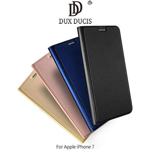APPLEiPhone74.7吋SKINPro隱扣式側翻皮套保護套手機套磁吸側翻插卡可立皮套新隱扣DUXDUCIS