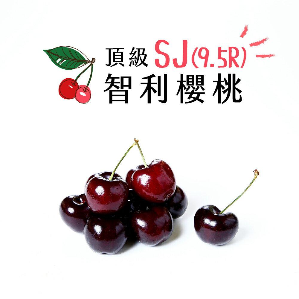 【好實選果】【1盒】頂級智利櫻桃SJ(9.5Row) (300g/盒)