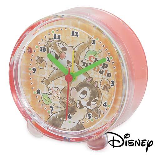sightme看過來購物城:【日本進口】奇奇蒂蒂迪士尼系列鬧鐘造型鐘指針時鐘燈光設計Disney-738076