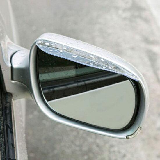 ♚MYCOLOR♚汽車後視鏡遮雨板雨眉晴雨擋反光鏡倒車鏡遮雨擋車用【P258】