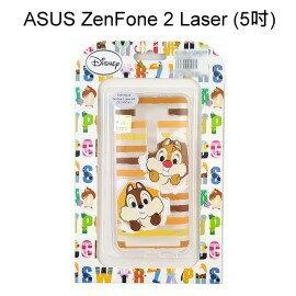 迪士尼透明軟殼 [條紋] 奇奇蒂蒂 ZenFone 2 Laser ZE500KL Z00ED (5吋)【Disney正版授權】