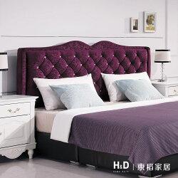 奧莉薇5尺紫色絨布床頭片 / H&D / 日本MODERN DECO