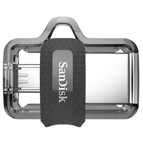 SanDisk 128GB OTG Ultra Dual microUSB 128G USB 3.0 150MB/s Flash Pen Drive SDDD3-128G + USB 2.0 OTG microUSB Reader 2