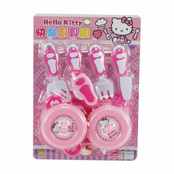 【888便利購】Hello Kitty 廚房快樂廚具組(ST正版授權)(A378)