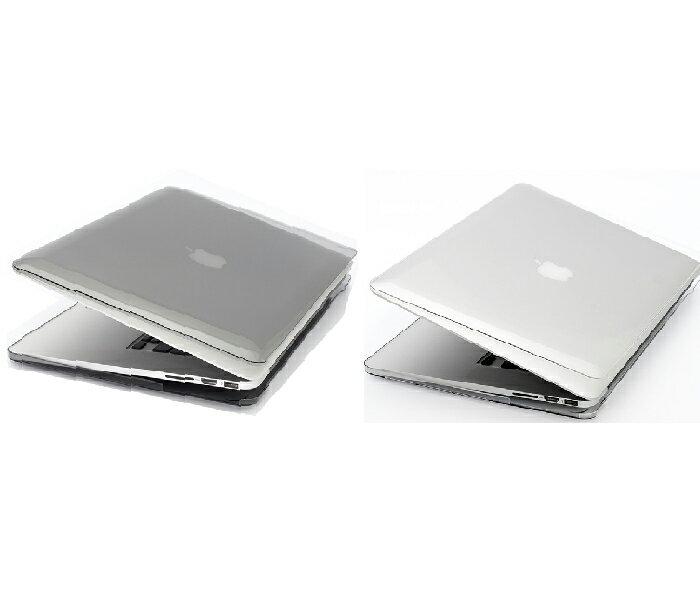 POWER SUPPORT MacBook Pro 13 吋 Retina Air Jacket 保護殼(2012 - 2015 版本皆適用)- 透明 / 透黑 ※ 贈 SwitchEasy 透明鍵盤..
