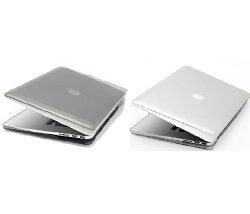 POWER SUPPORT MacBook Pro 13 吋 Retina Air Jacket 保護殼(2012 - 2015 版本皆適用)-  透明 / 透黑  ※ 贈 SwitchEasy 透明鍵盤保護膜