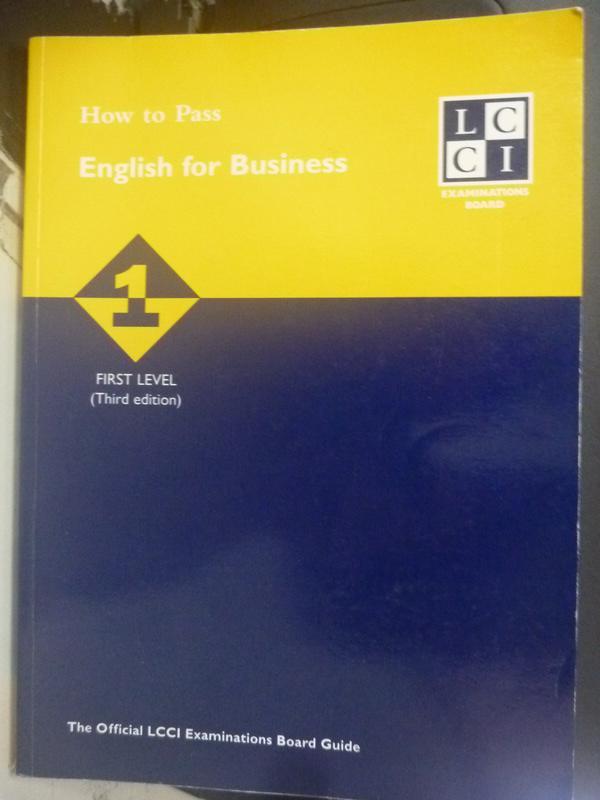~書寶 書T7/語言學習_WFS~How to Pass English for Busi