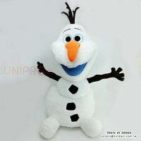 【UNIPRO】冰雪奇緣 FROZEN 雪寶 Olaf 坐姿 絨毛玩偶 娃娃 長毛 68公分 迪士尼正版授權