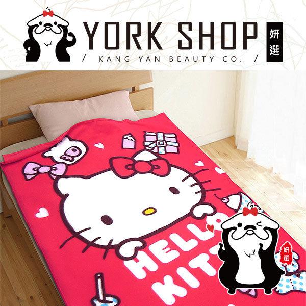 【姍伶】《熱銷現貨》Hello Kitty 正版 凱蒂貓 刷毛毯 冷氣毯 毯被子 MIT 生活小品 保暖被 台灣製