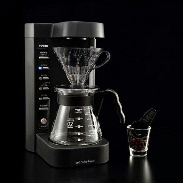 HARIO V60珈琲王 二代咖啡機 (贈送2-4人份錐形濾紙) EVCM2-5TB (保固一年)《vvcafe》 2