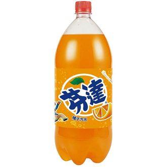 芬達 橘子汽水 2000ml