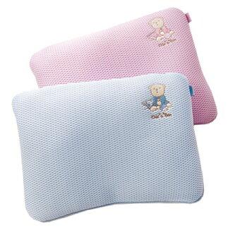 『121婦嬰用品』奇哥 立體超透氣嬰兒塑型枕 藍/粉