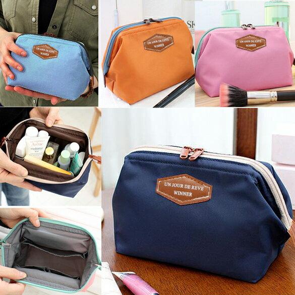Lady Travel Makeup bag Cosmetic pouch Clutch Handbag 0