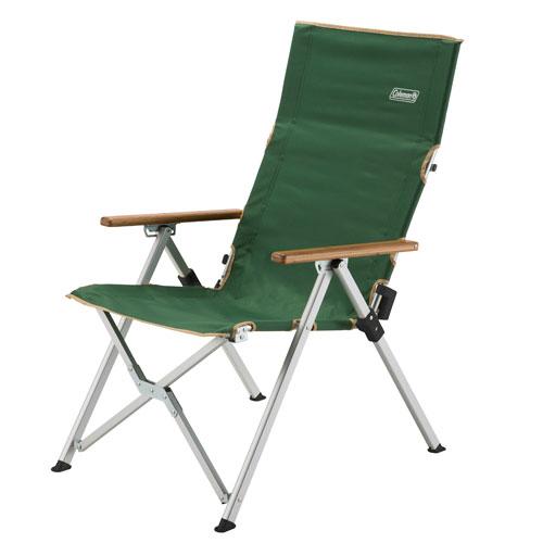 [ Coleman ] LAY躺椅/摺疊椅/露營椅/休閒椅 三段可調椅背 CM-26745 綠 台北山水