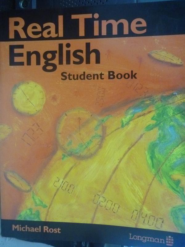 【書寶二手書T8/語言學習_ZHO】Real Time English-Student Book_Michael Ros